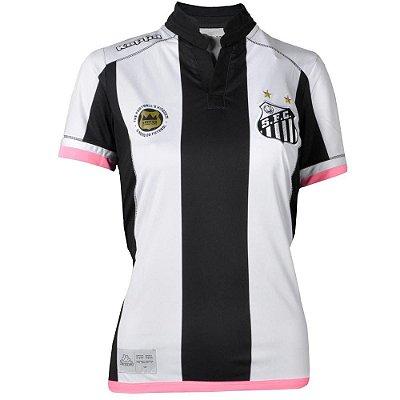 Camisa Santos Jogo II Official 2016 Kappa Feminina a9d2533be06b0