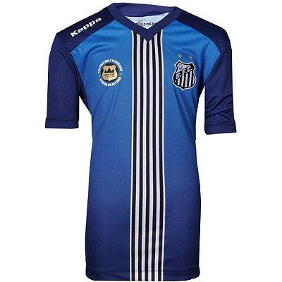 Camisa Santos III Torcedor 2016 Kappa Juvenil