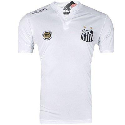Camisa Santos Jogo I Réplica 2016 Kappa Masculina