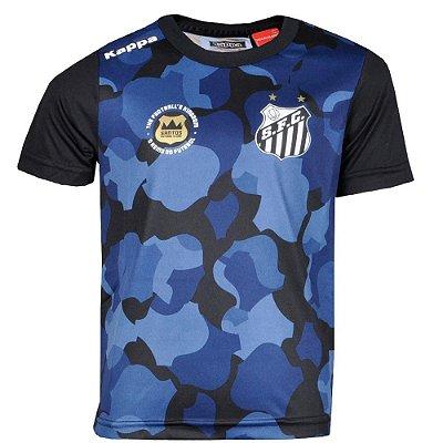 Camisa Santos Pré Match 2016 Infantil