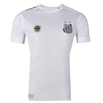 Camisa Santos Jogo Torcedor 2017 Kappa Juvenil