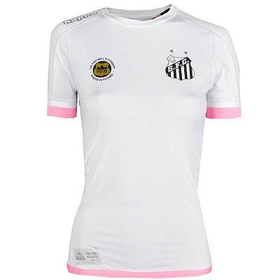 Camisa Santos Jogo I Kombat 2017 Kappa Feminina a7369c0faac2a