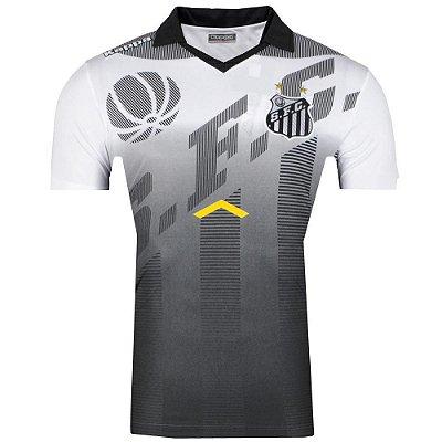 Camisa Pólo Santos Viagem Comissão Técnica 2017 Kappa Masculina