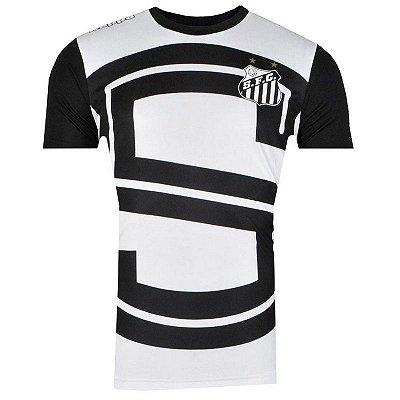 Camisa Santos Aquecimento I 2017 Kappa Masculina