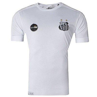 Camisa Santos Jogo I Torcedor 2017 Kappa Juvenil