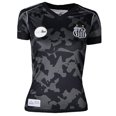 Camisa Santos Jogo III Official 2017 Kappa Feminina