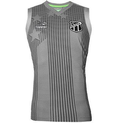 Camisa Regata Ceará Treino Atleta 2016 Topper Masculina