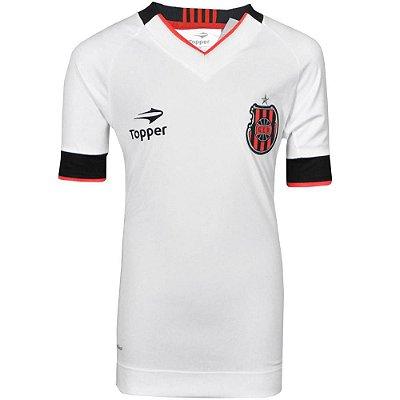 Camisa Brasil de Pelotas Jogo II Nº10 2016 Topper Juvenil