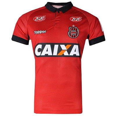 Camisa Brasil de Pelotas Jogo I Plus Size 2017 Topper Masculiina