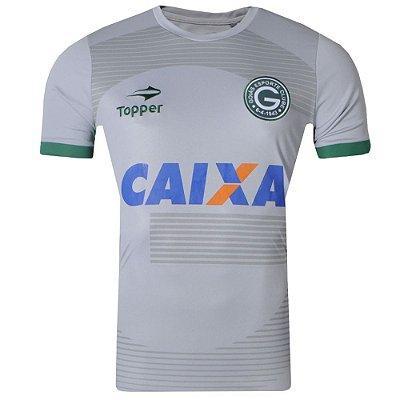 Camisa Goiás Aquecimento 2017 Topper Masculina