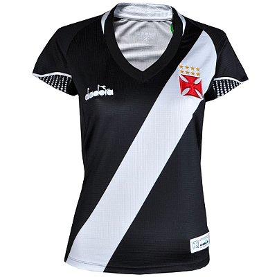 Camisa Vasco Jogo I Fan 2018 Diadora Feminina