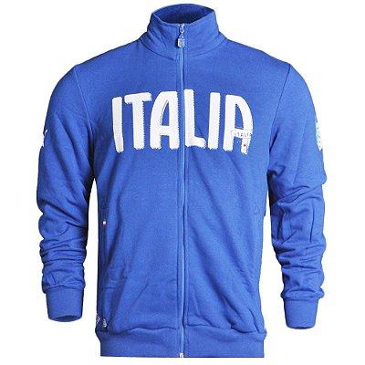 Blusa Figc Italia Track Puma Masculina