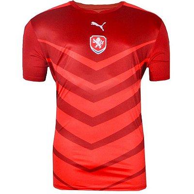 Camisa República Tcheca Jogo I 1516 Puma Masculina