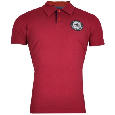 Camisa Polo Authentic Stamp Kappa Masculina