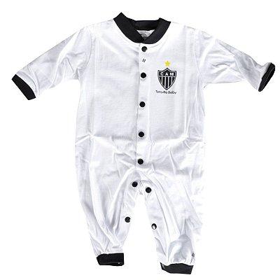 Macacão Longo Malha Bebê Atlético