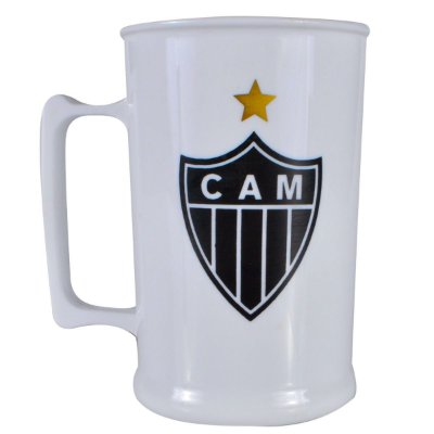 Caneca Acrílica 500ML Atlético