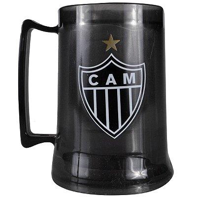 Caneca Gel Preta Atlético