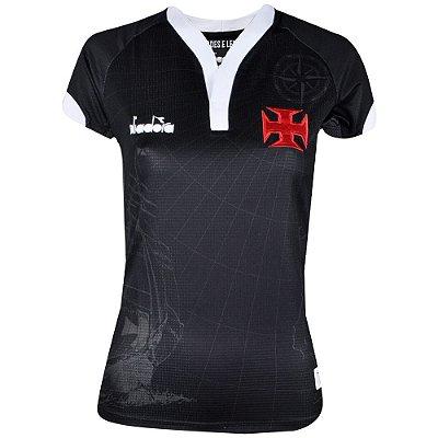 Camisa Vasco Jogo III 2018 Diadora Feminina