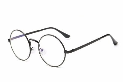 Óculos redondo anti raios azuis