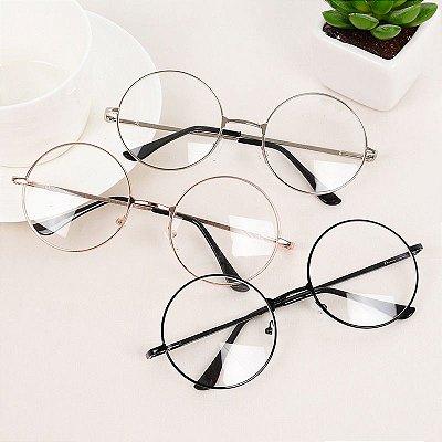 Óculos redondo