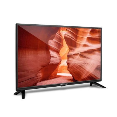 "Tela 24"" HD Multilaser USB HDMI Gravador TV Digital TL016"