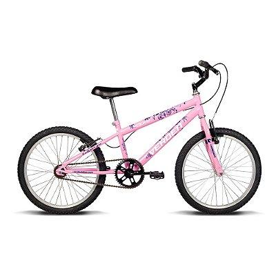 Bicicleta Juvenil Aro 20 Folks Rosa Roxo Verden Bikes