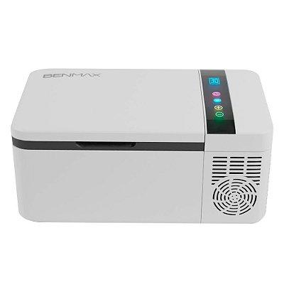 Freezer Portátil Compressor 15 Litros Benmax BFZ015L Bivolt