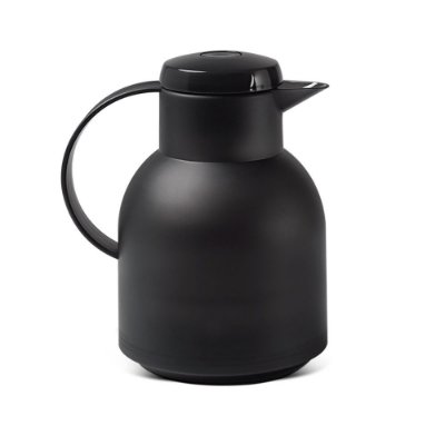 Garrafa Térmica 1 Litro Keep Preta Haus Concept Brinox