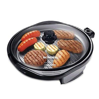 Grill Redondo Mondial Cook & Grill 40 Premium G-03 110v