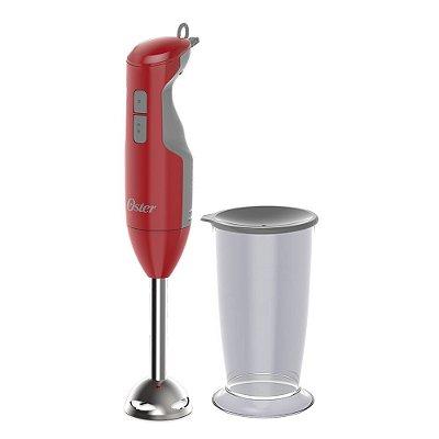 Mixer Oster Versátil Vermelho Função Turbo 2610R 110v