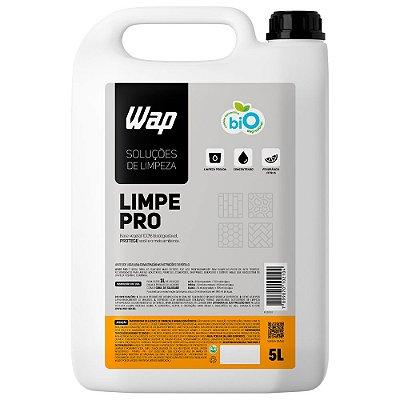 Detergente Biodegradável Profissional Pisos 5L Wap Limpe Pro