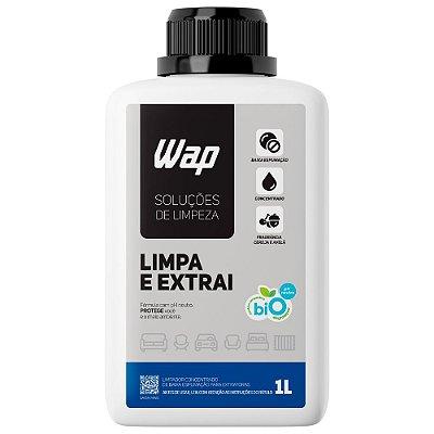Detergente Limpador Para Extratoras 1L Limpa e Extrai Wap