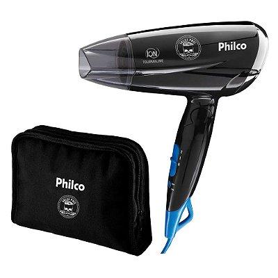 Secador de Cabelos Philco Skull Pro Travel PSC07P 1200W Bivolt