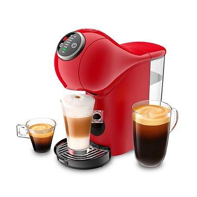 Cafeteira Expresso Arno Dolce Gusto Genio S Plus Vermelha 110v