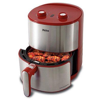 Fritadeira Philco Air Fry Redstone PFR10VI Inox 3,2L 110v