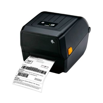 Impressora Desktop Térmica de Etiquetas Zebra ZD220 USB Bivolt