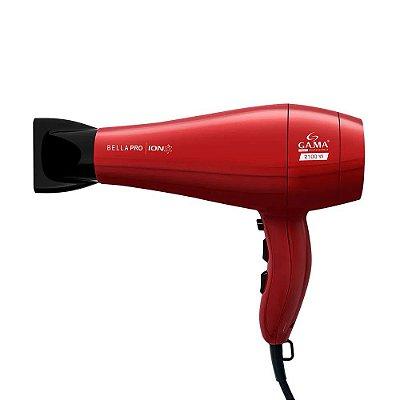 Secador de Cabelos Pro Gama Italy Bella Pro Íon 2100W 220v