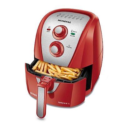 Fritadeira Air Fryer 4 Litros Vermelho AFN-40-RI Mondial 110v