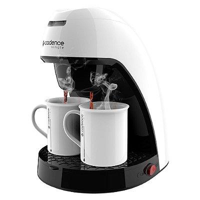 Cafeteira Single CAF210 240ml Colors Branco Cadence 110v