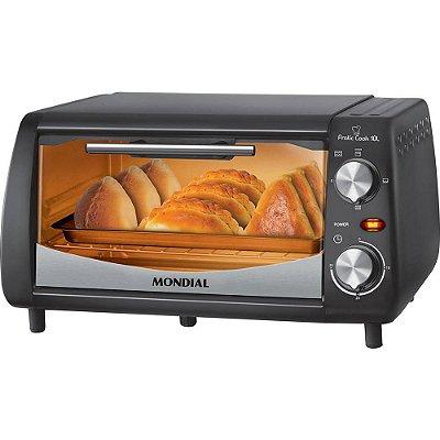 Forno Elétrico Mondial Pratic Cook FR-08 10 Litros 650W