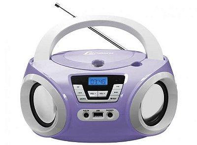 Rádio Portátil Lenoxx Boombox Bd121 5w  Usb - Mp3 - Cd Aux
