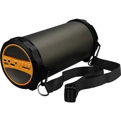 Som Portátil Lenoxx Bt530 Speaker Boom System Com Bluetooth Rádio Fm e Subwoofer