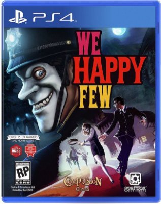 Jogo We Happy Few - Ps4 - Mídia Física Lacrado