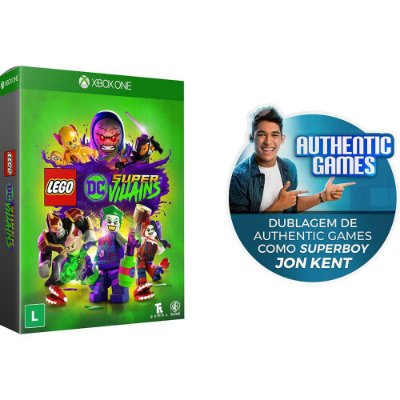 Game Lego Dc Super Villains - XBOX ONE