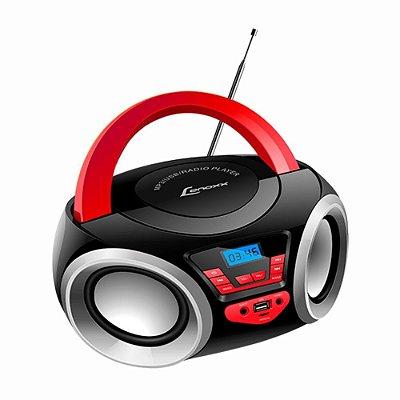 Rádio Portátil Bluetooth Boombox Lenoxx bd110