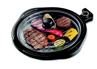 Grill Redondo 1200W Smart G-04 Mondial 127V