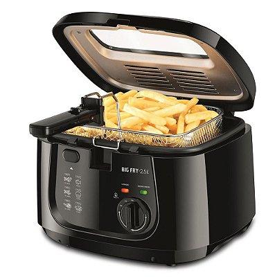 Fritadeira Elétrica Big Fry 2,5L 1500w FT-07 Mondial 127v