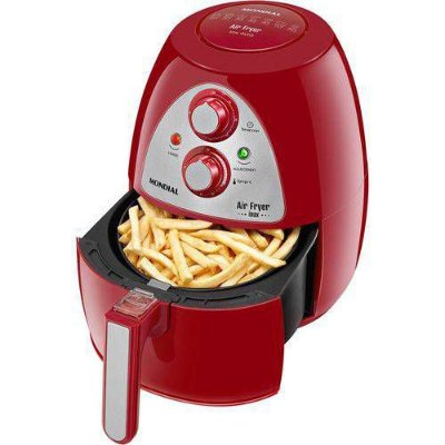 Fritadeira Air Fryer AF-14 Inox 3,2 litros Red Mondial 127v