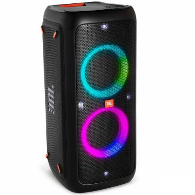 Caixa De Som Portátil Jbl Party Box 300 Bluetooth Led Usb 120 Wrms Bateria 18hrs - PartyBox