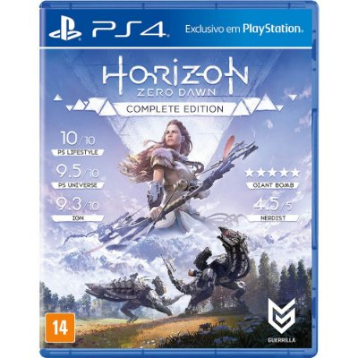 Game Horizon Zero Dawn Complete Edition - PS4